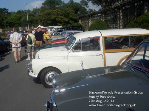 Blackpool Vehicle Preservation Group Show on the Italian Gardens