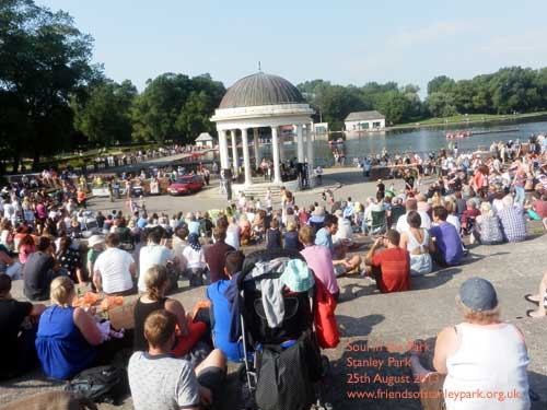 Soul in the Park on the Bandstand